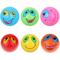 "Magideal 9"" Inflatable Smiley Emoji Beach Pool Ball Kids Toy-Green"