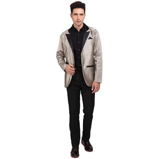 Nu Abc Golden Blazer For Men