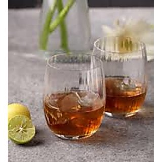 Deal1000 Club Waterfall whiskey glass(300ml) set of 6 pcs