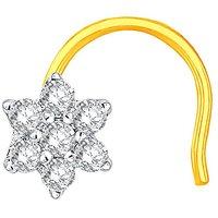 Nakshatra Diamond Nosepin ADJ00046SI-GHI18Y