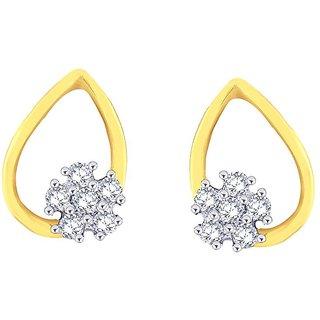 Nirvana Diamond Earring DDE02345SI-GHI18Y