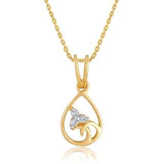 Diya Diamond Pendant DDP01416SI-JK9Y