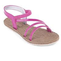 Ridhi Sidhi Womens Comfortable Pink Flats