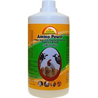 Amino Power (500 ml) - An Strongest Animal Healthcare Products with 46 Powerful Amino Acids, Vitamins  Minerals