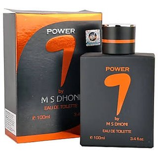 Exclusive 7 By M.S.DHONI - Eau de Toilette Men Perfume 100ml - Power (Pack of 2)