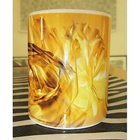 Ceramic Coffee Mug - Golden Yellow