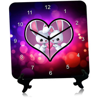 Giftcart Couple Picture Wall Clock