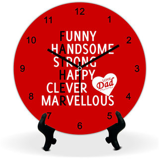 Giftcart For Father Wall Clock