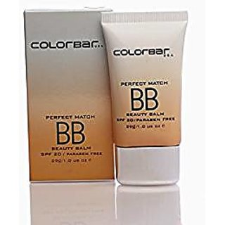Colorbar Perfect Match Beauty Balm Crme, White Light  29g