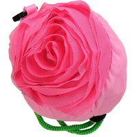 Rose Folding Shopping Bags (Pack Of 5)