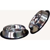 HMSTEELS Stainless Steel Pet Dog Feeding Bowl Anti Skid 2bowls Set 500ML