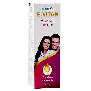 Healthvit E-Vitan Vitamin E Hair Oil 100ml