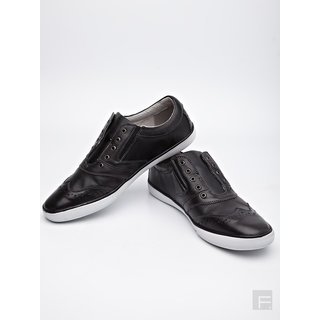 Steve Madden Martinn Slip- On Shoes (Black)