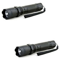 Self Defense Stun Gun With Torch Flashlight  Pack Of 2