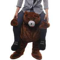 Magideal Bear Back Shoulder Carry Stag Fancy Dress Costume Mens Party Outfit Ride On
