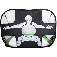 Magideal Foldable Portable Pop Up Target Training Football Soccer Goal Green