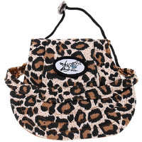 Magideal Small Pet Dog Cat Kitten Leopard Baseball Hat Neck Strap Cap Sunbonnet M