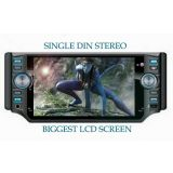 CAR STEREO WITH BUILT IN 5.2 INCH LCD SCREEN AND DVD USB FM PLAYER