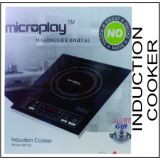 Microplay Induction Cooker 2000W With Free Gift