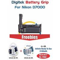 Digitek Battery Grip Nikon D7000