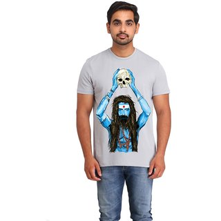 Snoby ponga pandit cotton printed T-shirt (SBY16365)