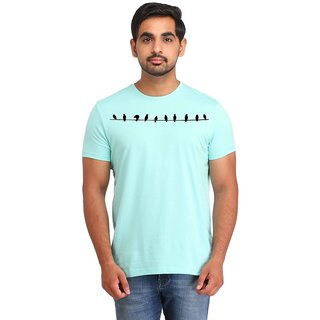 Snoby Birds cotton printed T-shirt (SBY16392)