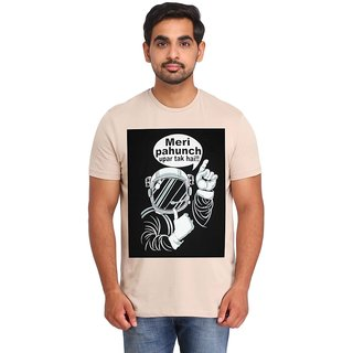 Snoby Meri pahcuh uper tak hai cotton printed T-shirt (SBY16408)