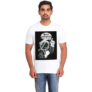 Snoby Meri pahcuh uper tak hai cotton printed T-shirt (SBY16411)
