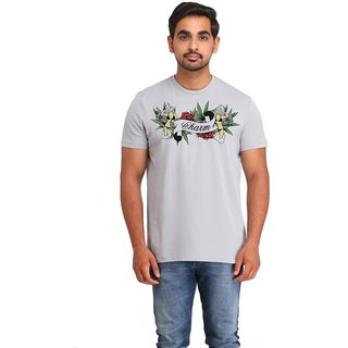 Snoby Charm cotton printed T-shirt (SBY16512)
