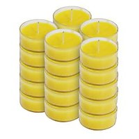 Scented Tea Light Candle Round Set Of 25pc - 99393995