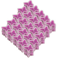 Scented Tea Light Birthday Candle Butter Fly Set Of 50pc - 99394754