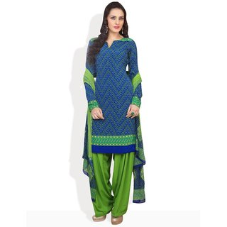 Tamanna Fashions Casual Style Ready-To-Stitch Suit (Lemon)