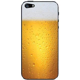 Cellet Beer Skin For Iphone 5 Orange