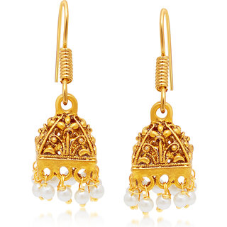 Sukkhi Glimmery Gold Plated Earring For Women