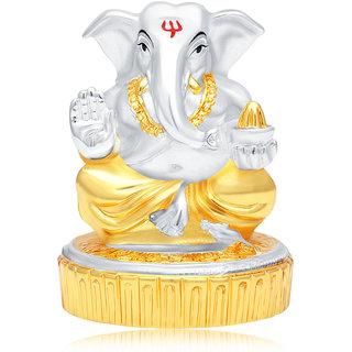 Sukkhi Splendid Gold & Rhodium Plated Lord Ganesha Spiritual Idol