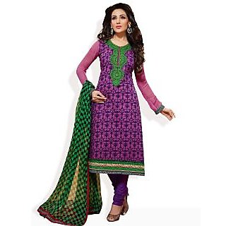 Cotton Bazaar Redefining Style Formal Ready-To-Stitch Suit (Multi Colour)