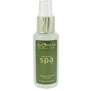 Ayorma Fairness And Anti Tan Face Mist, 100Ml