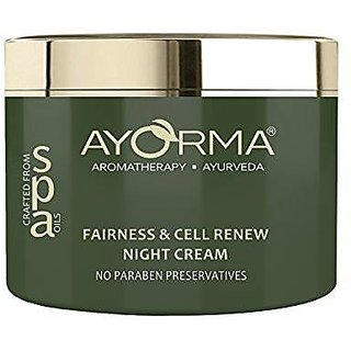 Ayorma Fairness And Cell Renew Night Cream, 50 Gm