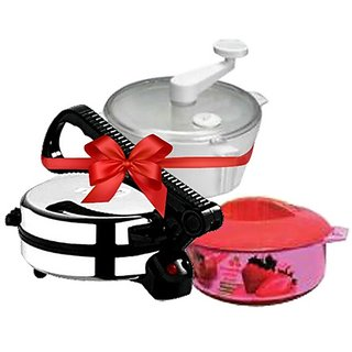 BRoti Maker COMBO(Dough Maker  Casserol)