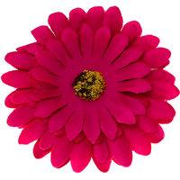 Magideal Sun Flower Hair Rope Floral Hair Claw Brooch Barrette Hair Ornaments Crimson