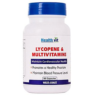 Healthvit Lycopene With Multivitamins 60 Capsules