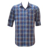 GYP-C CASUAL COTTON CHECKS SHIRT FOR MEN FREE SHIPPING HIGH QUALITY DISCOUNT PRICE