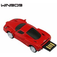 Red Sports Car Shaped Pen Drive Designer Fancy Modern USB 2.0 Pendrive 8GB