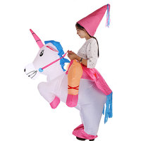 Magideal Inflatable Unicorn Kids Fancy Dress Costume Princess Hen Stag Night Outfit
