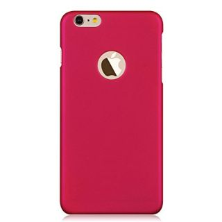 iPhone 6 Case, Teelevo [Exact-Fit] Ultra Slim Premium Matte Finished Hard PC Case, Bundle with Clear HD Screen Protector for iPhone 6 (4.7-Inch) - Rose