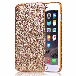 iPhone 6S Plus Case, Nicelin Glitter Pattern Hard PC Materials Case for Apple iPhone 6S Plus (NOT FOR iPhone 6S) (Gold)