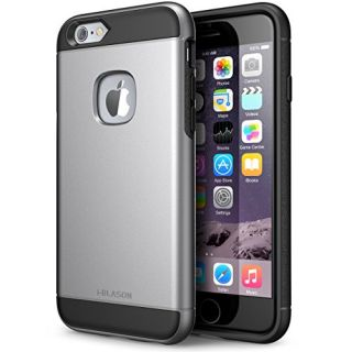 iPhone 6s Case, i-Blason Unity [Dual Layer] Apple iPhone 6 Case 4.7 Inch Cover [Ultra Slim] Armored Hybrid TPU Cover / Hard Outter Shell (Gray)