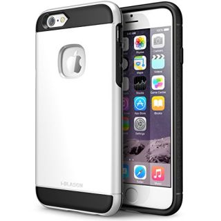 iPhone 6s Case, i-Blason Unity [Dual Layer] Apple iPhone 6 Case 4.7 Inch Cover [Ultra Slim] Armored Hybrid TPU Cover / Hard Outter Shell (white)