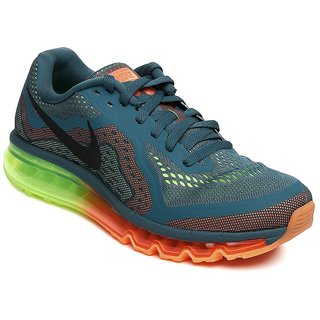 Nike Men Green Air Max 2014 Sports Shoes