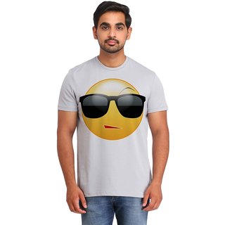 Snoby Style Smiley printed t-shirt (SBY16701)